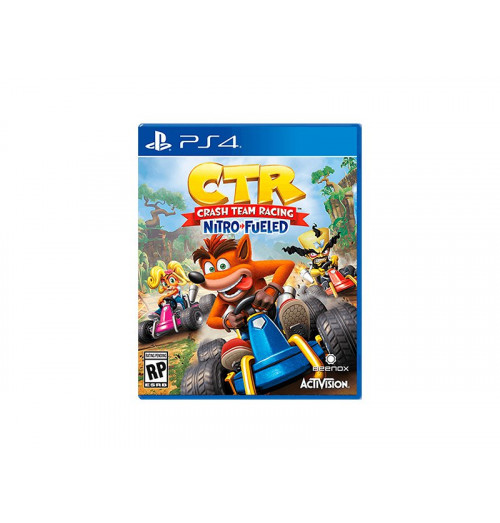 PS4 CTR Crash Team Racing Nitro Fueled