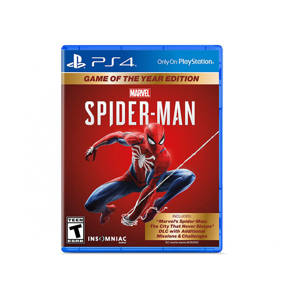Juego PS4 Spiderman Game of the year Edition