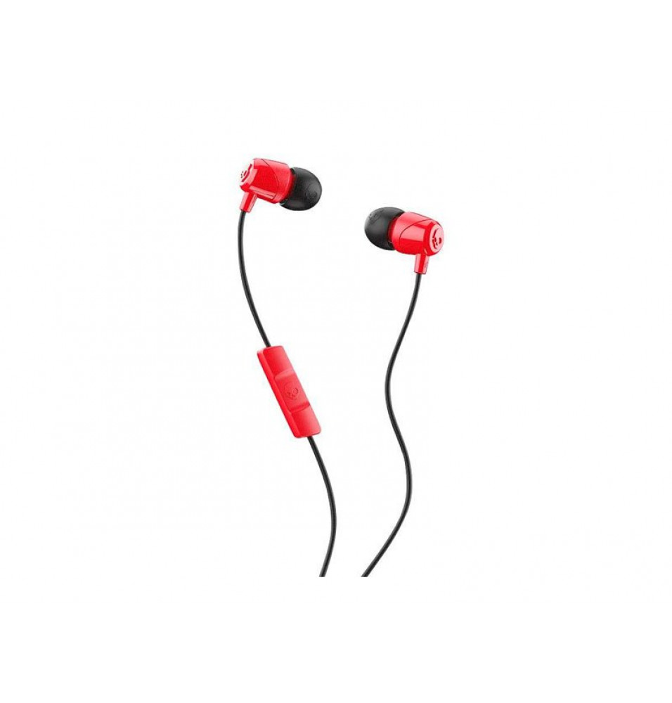 Audífono Skullcandy In-Ear JIB Red/Black/Red con Micrófono