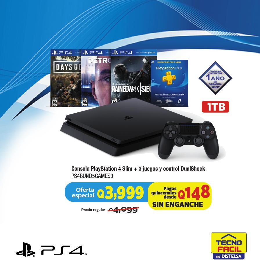 Bundle Consola Playstation 4