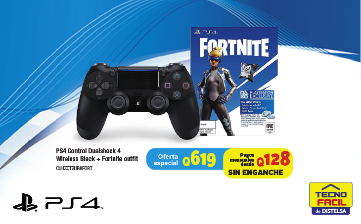 Control PS4 Fortnite