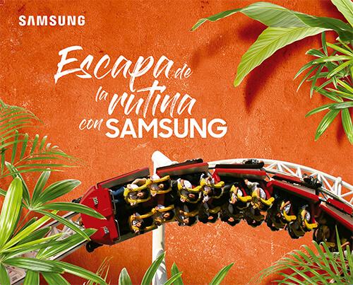 Escapa de la rutina con Samsung